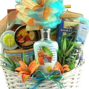Women/mommy luxury gift baskets